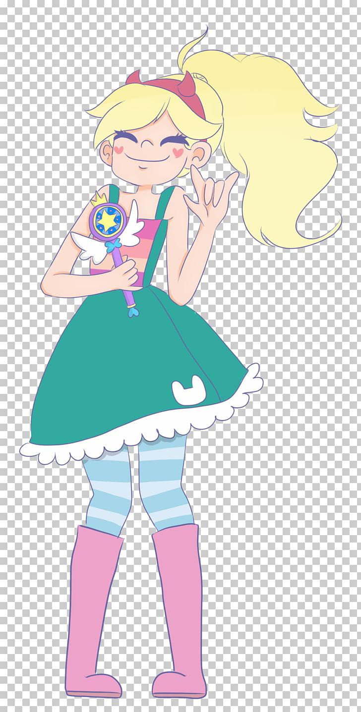 Fan art Star Character, star PNG clipart.