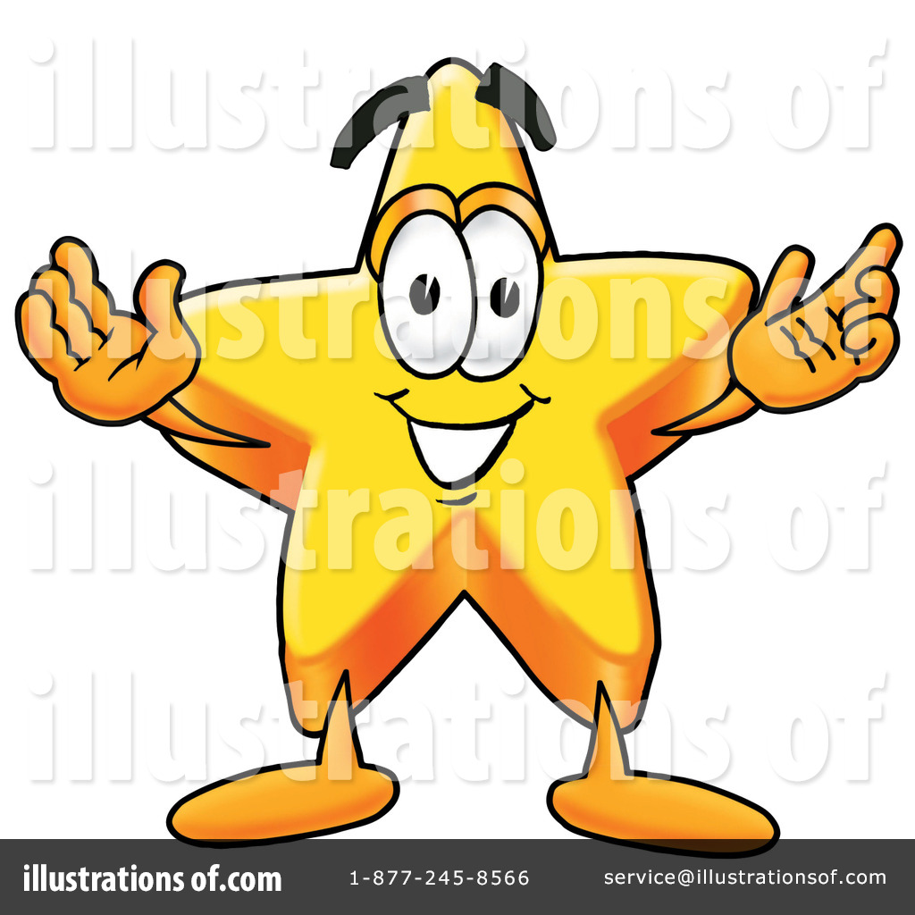 Star Character Clipart #17470.