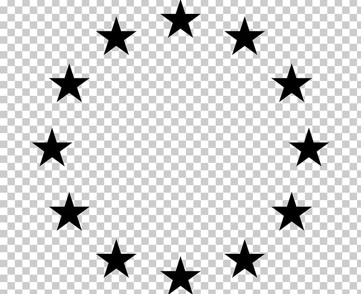 Star Circle PNG, Clipart, Black And White, Circle, Download.