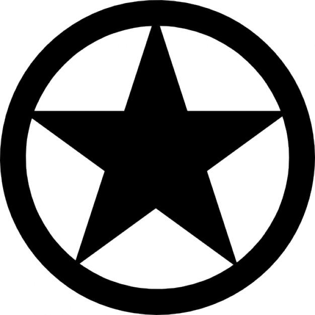 Star in circle Logos.