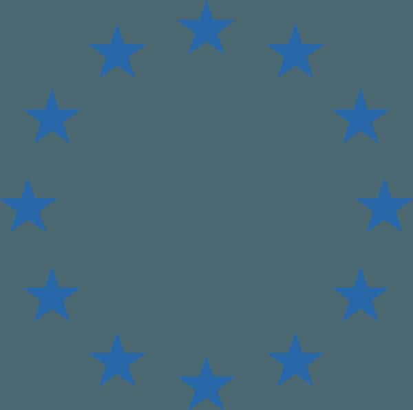 Blue Circle Star Logo.