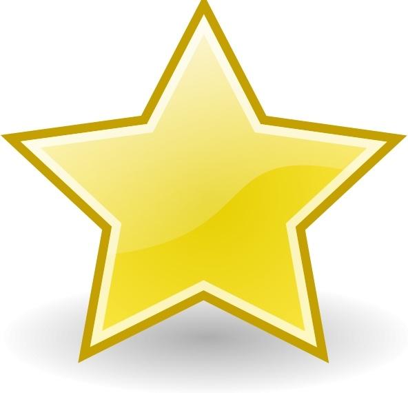Rocket Emblem Star clip art Free vector in Open office.