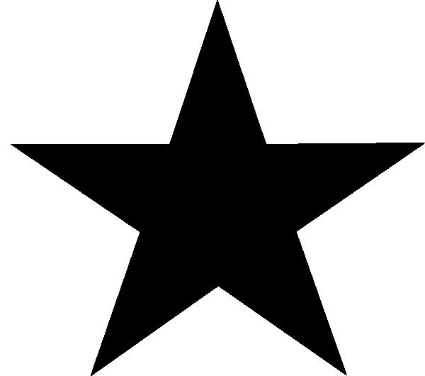 Star Clip Art Outline.