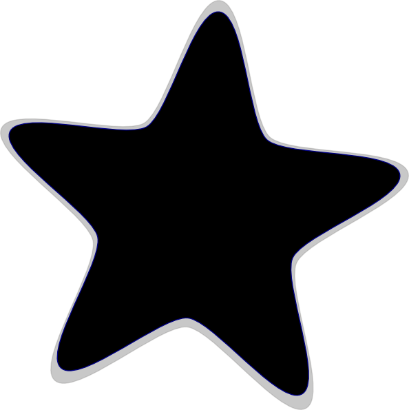 Library of black png black and white star png files.