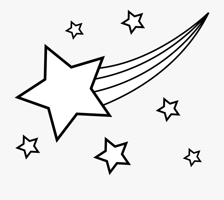 Star Black And White Image Of Star Clipart Black And.