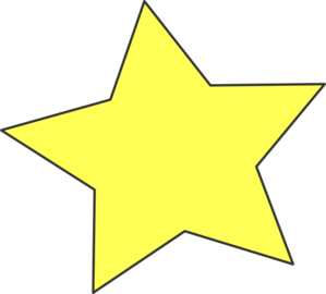 Stars Clipart For Kids.