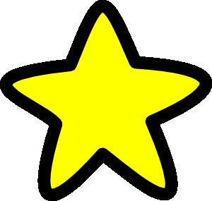 Star Soft Edges clip art.