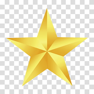 Fivepointed Star transparent background PNG cliparts free.