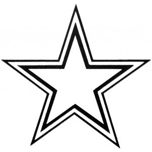 Star outline images of a star clipart clipart 3.