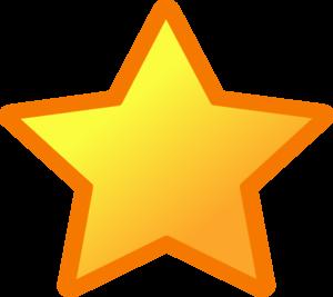 Vector Star Clip Art at Clker.com.