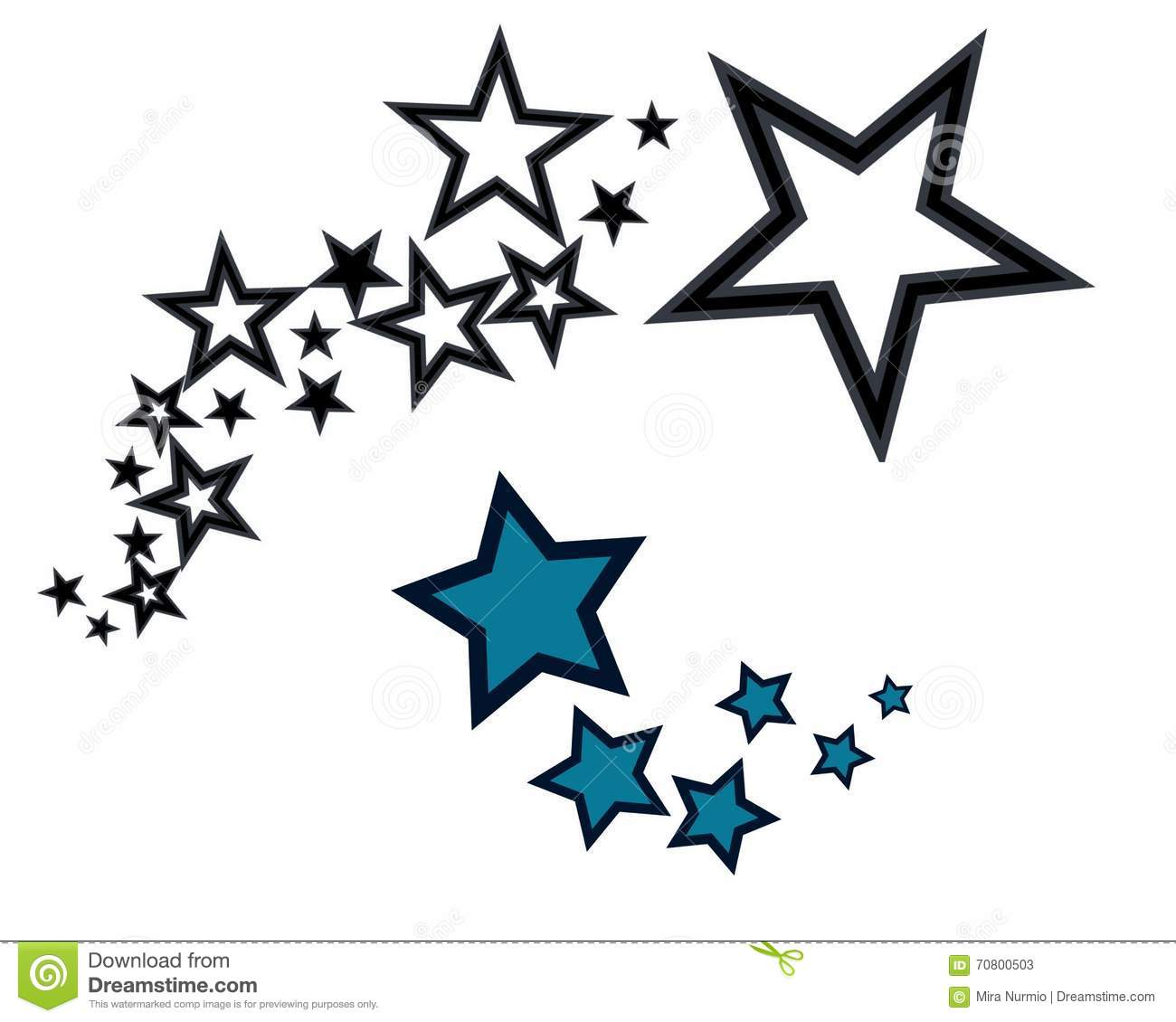 Star Cluster Clipart.