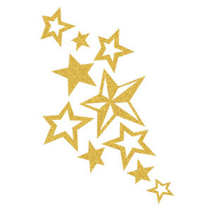 Star clusters clipart.