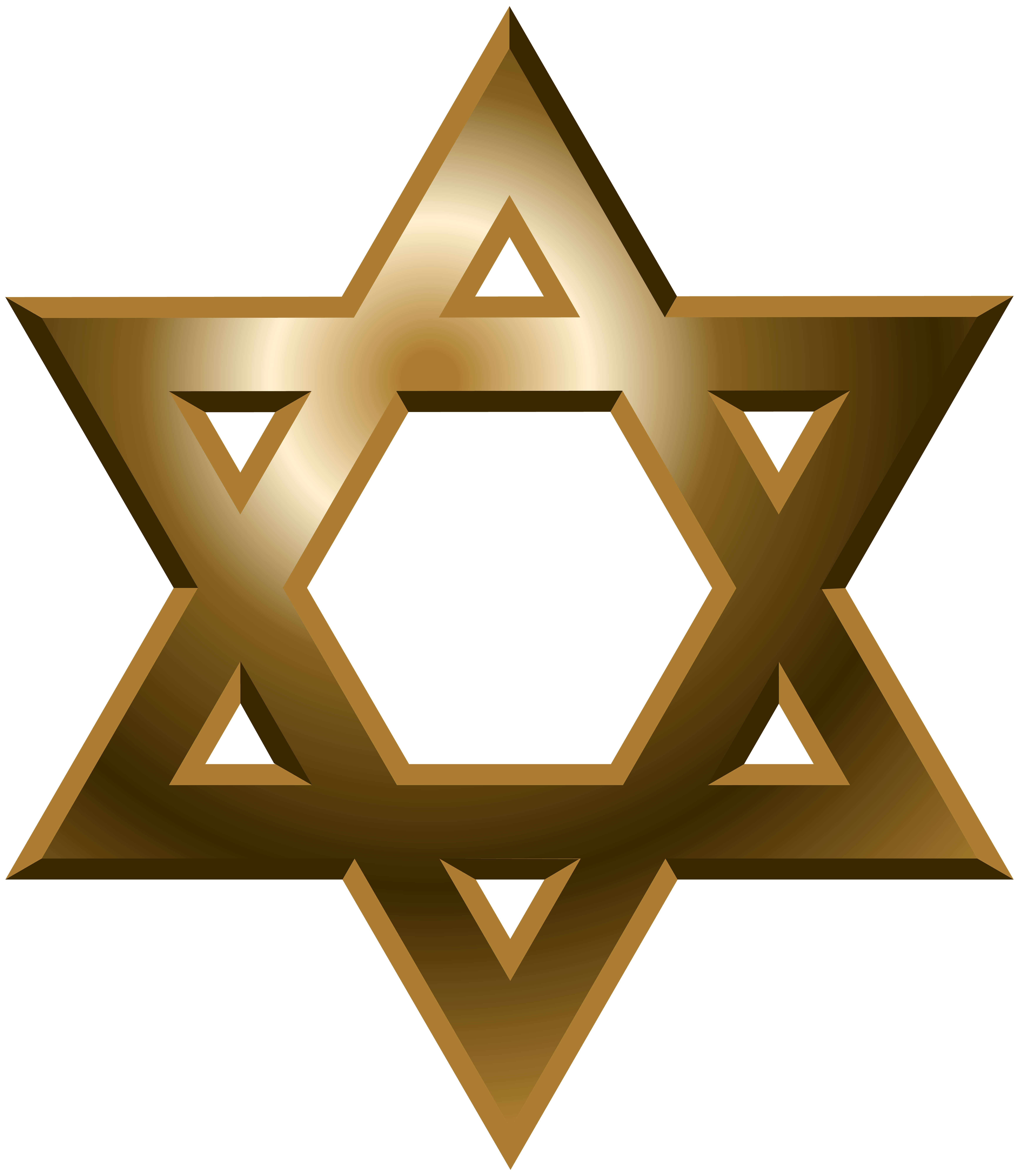 Star of David PNG Clip Art.