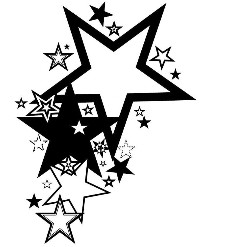 Star Design Clipart.