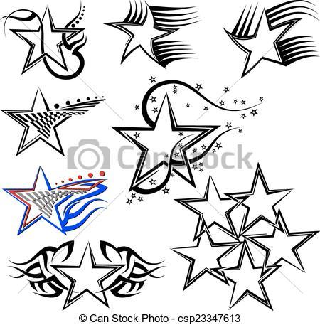 Star design Vector Clipart Royalty Free. 294,245 Star design clip.