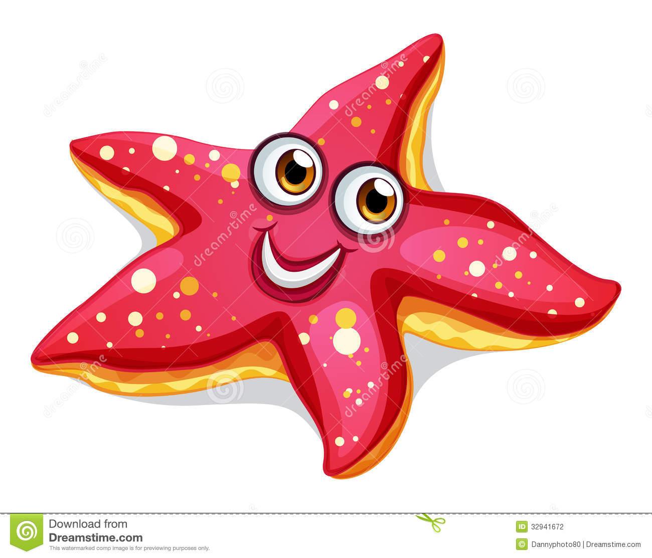 Clip art star fish.