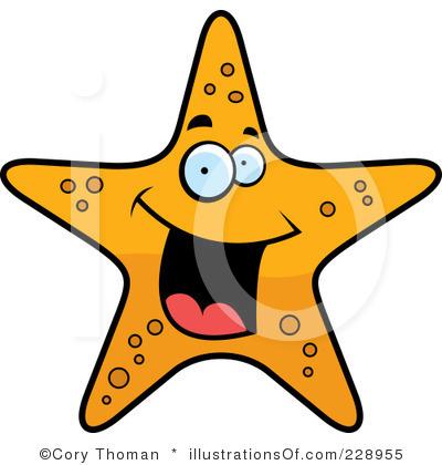 Cute Starfish Clipart.