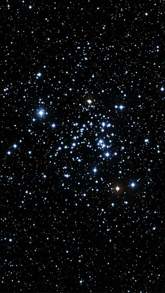 Globular Cluster Star Formation Region iPhone 6 wallpaper.