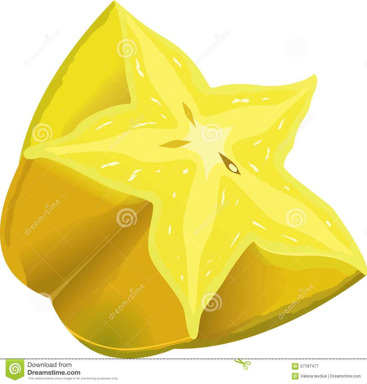Starfruit Stock Illustrations.