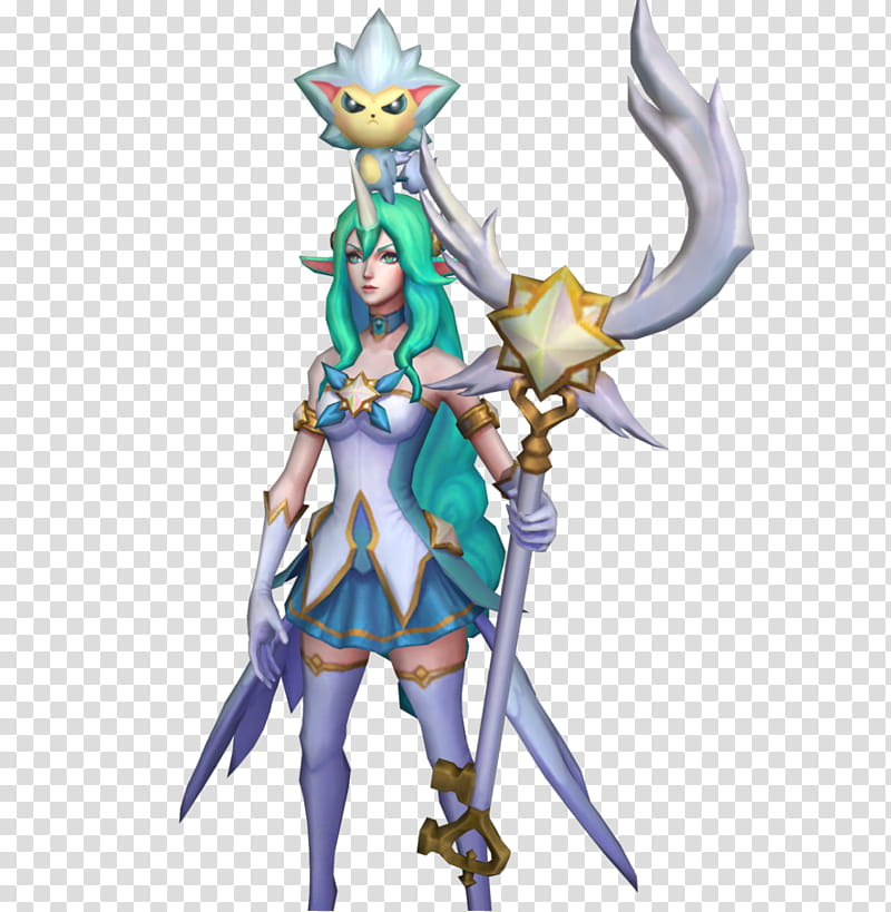 Soraka Star Guardian (XPS) transparent background PNG.