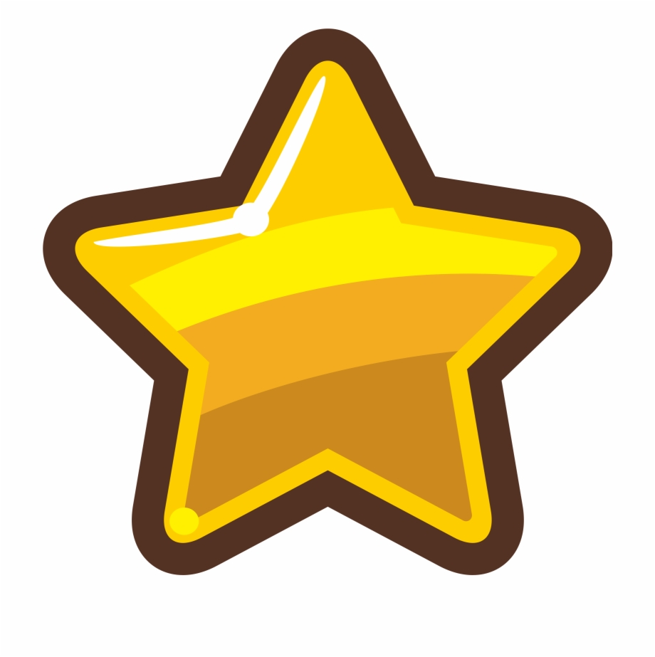 Cartoon Gold Star Icons Png Free And.