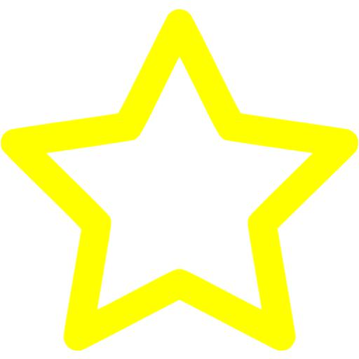 Star outline images yellow outline star icon free yellow.