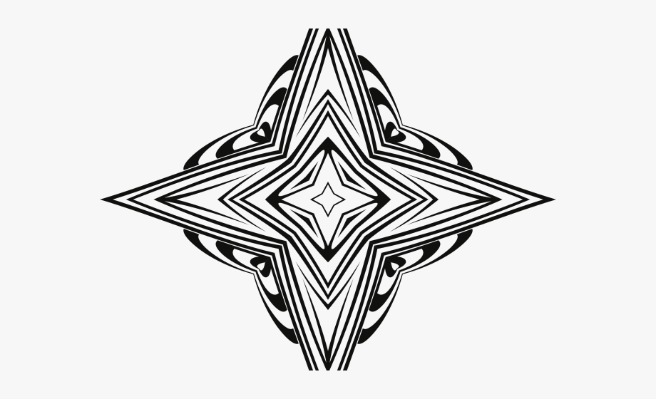 Lines Clipart Star.