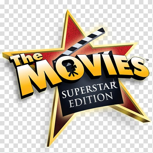 The Movies Superstar Edition logo, The Movies Film Cinema.