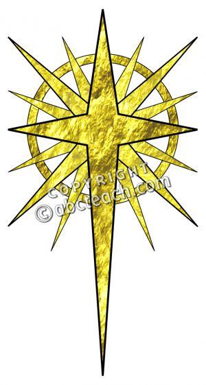 Bethlehem Star Images Christian Clipart.