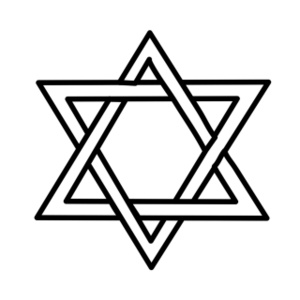 Star Of David Clipart Image:.