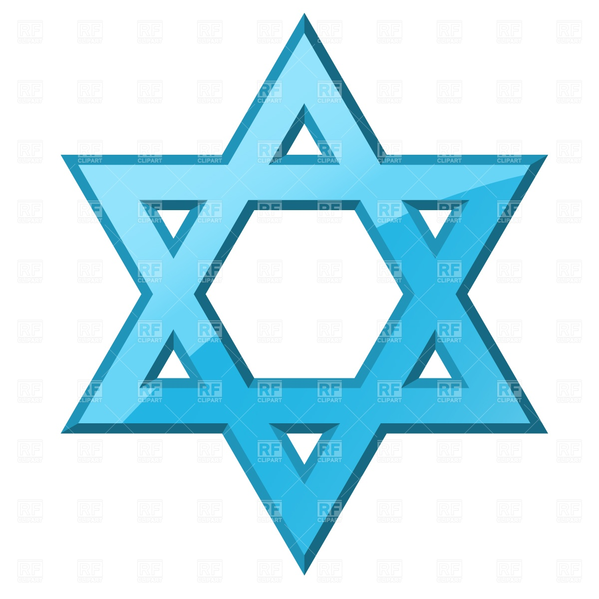 Borders Clipart Star Of David.