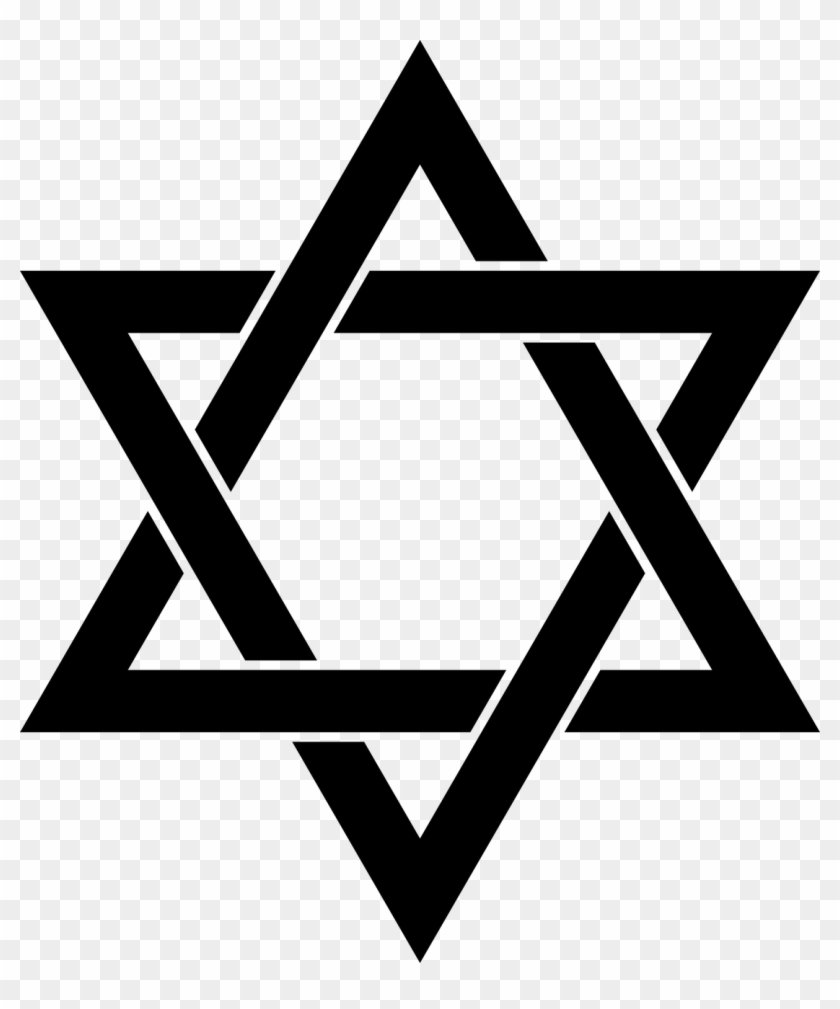 Vector Illustration Of Star Of David Shield Of David.