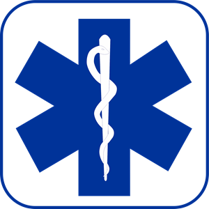 Star Of Life Blue Logo Vector (.CDR) Free Download.
