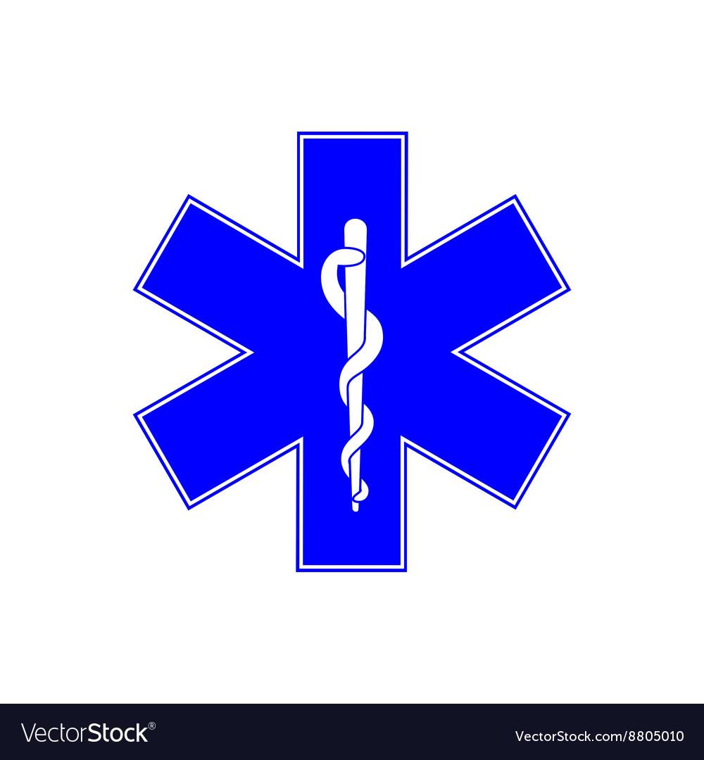 Medical symbol of Emergency.