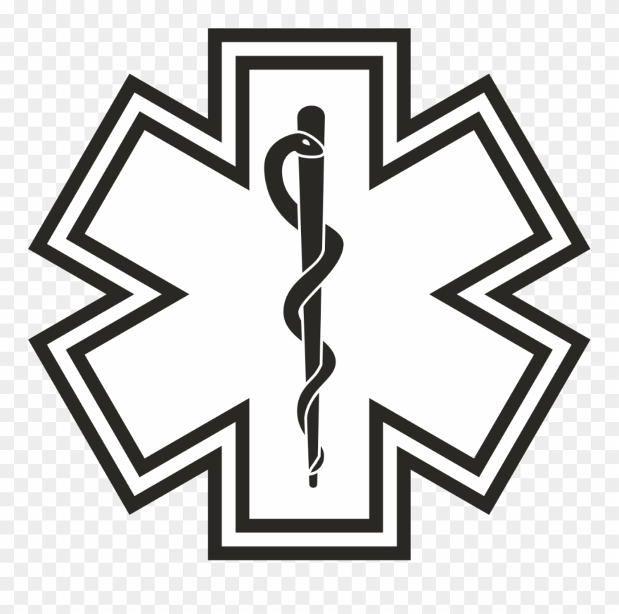 Ems Star Of Life Clipart (#4190647).