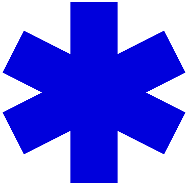 Star Of Life Clip Art at Clker.com.