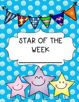 Star of the Week poster.