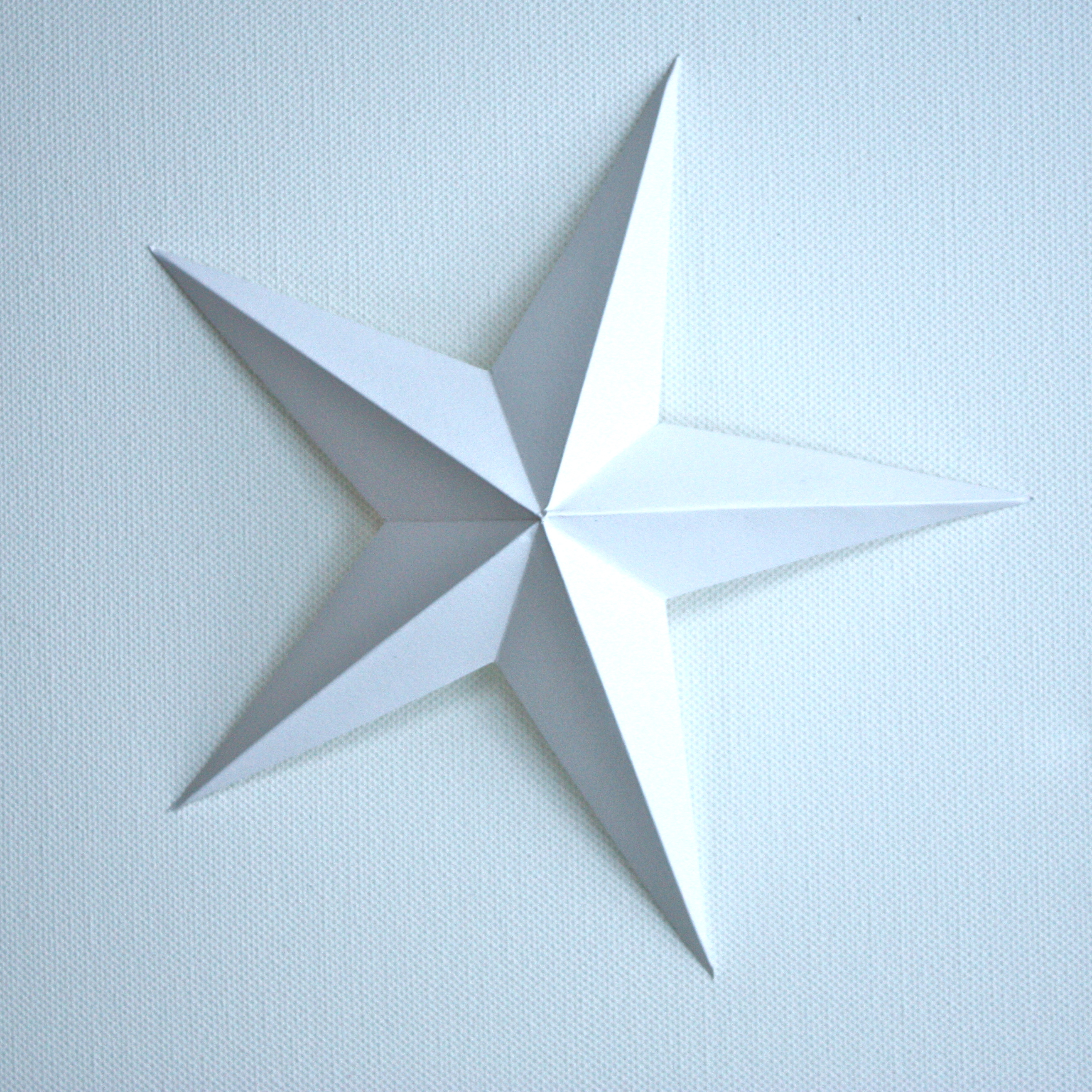 Christmas star clipart paper.