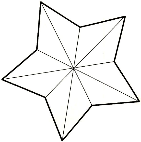 17 Best ideas about Star Template on Pinterest.