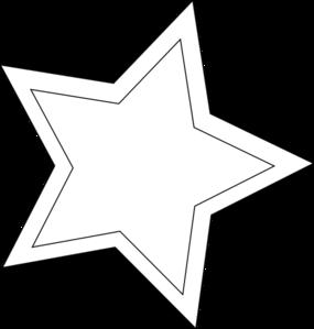 46+ Star Outline Clipart.