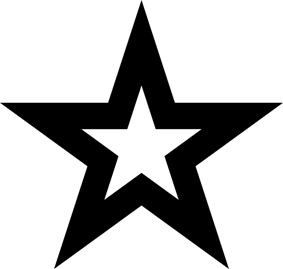 Star Outline Favorite Interface Symbol Svg Png Icon Free.