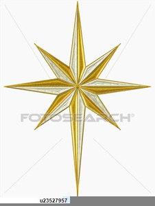 Star Over Bethlehem Clipart.