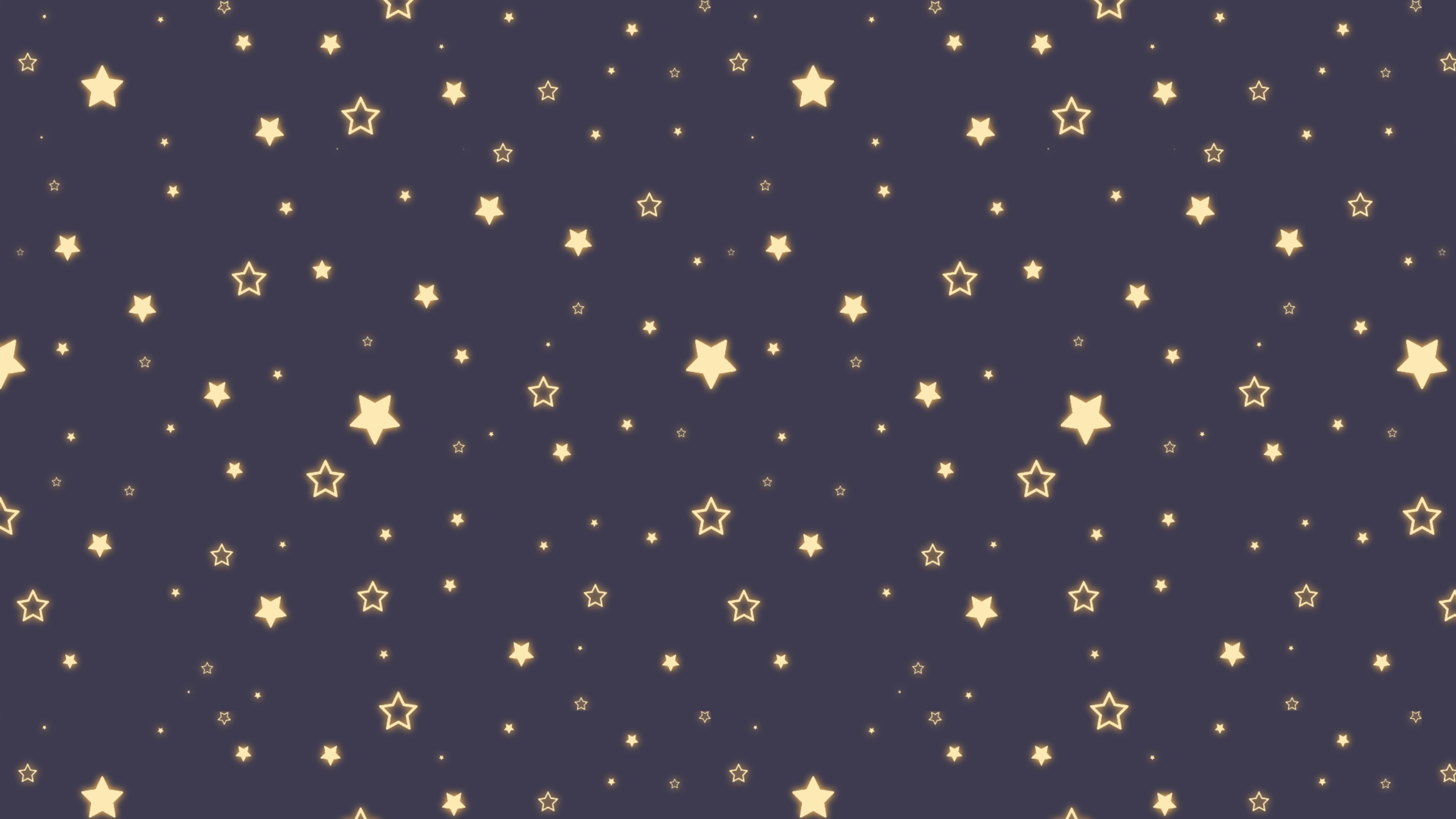 Design A Glowing Star Pattern And Turn It Into A Background.