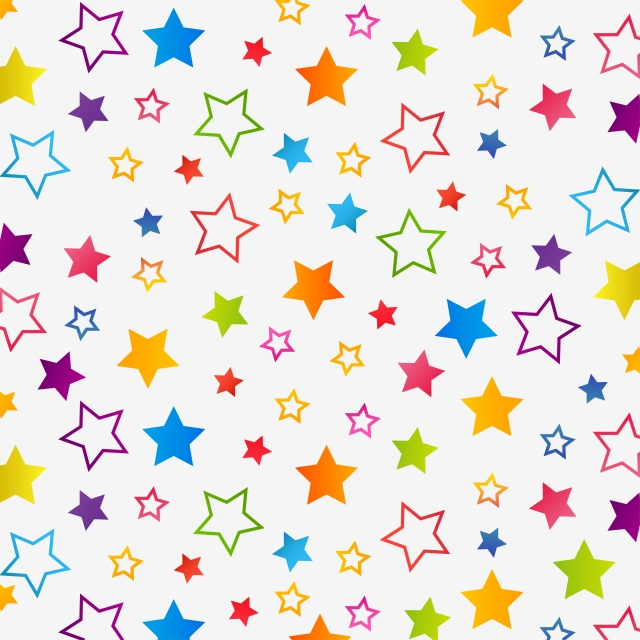 Colorful Star Background Pattern, Stars, Star, Background.
