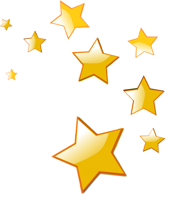 Star PNG image, free picture download.