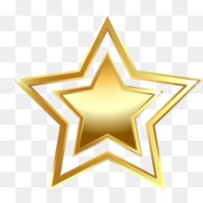 Download Free png Golden Stars PNG Images.