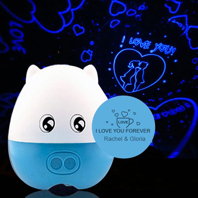 Aliexpress.com : Buy Rotating Laser Star Night Light Projector.