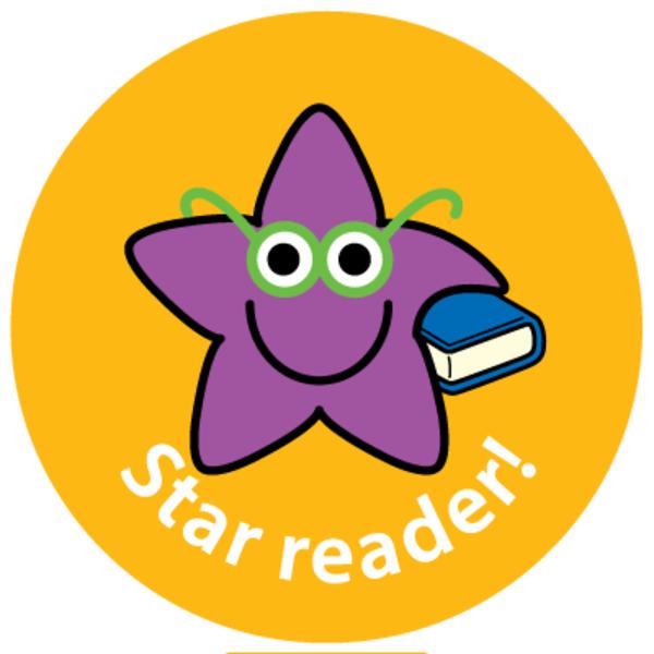 28mm Star Reader reward stickers.