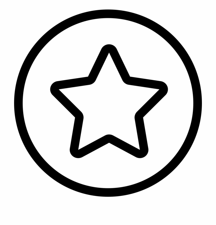 Coloring Star Shape Book Line Red Clipart.