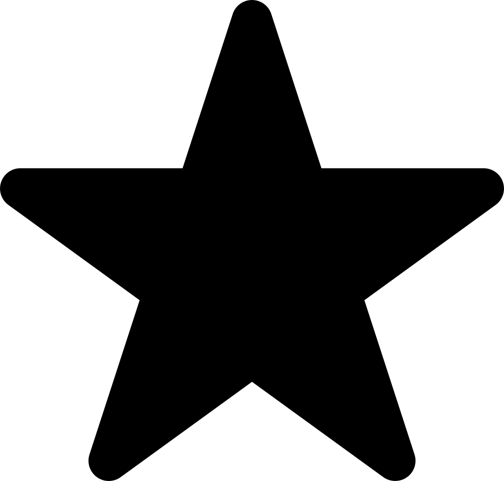 Star Shape Rounded Svg Png Icon Free Download (#33790.